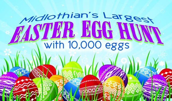 Midlothian's Largest Easter Egg Hunt